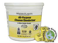 Stearns Water Flakes All-Purpose Cleaner & Deodorizer