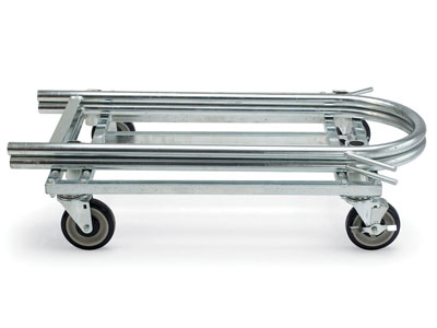 "Heavy-Duty Mat Utility Cart - 44"" x 25"" x 30"""