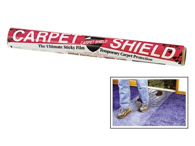 "Surface Shields Carpet Shield® Protective Film - Clear - 24"" x 50'"