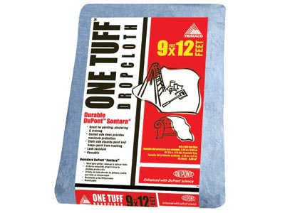 Trimaco One Tuff® Non-Woven Drop Cloth - 9' x 12'