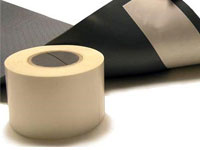 "Tack-Tape Floor Mat Double-Sided Backing Tape - 4"" x 250' CM-DLR4250TP"