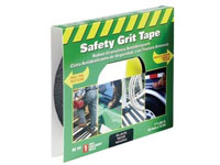 "Life-Safe® [RE141] Anti-Slip Safety Grit Tape - Black - 1"" x 60'"