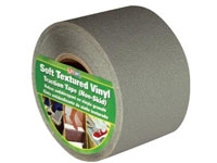 "Life-Safe Anti-Slip Safety Grit Tape - Gray - 4"" x 60'"