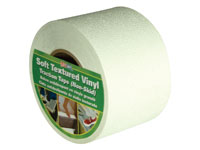 "Life-Safe® [RE3888WH] Anti-Slip Safety Grit Tape - White - 4"" x 60'"