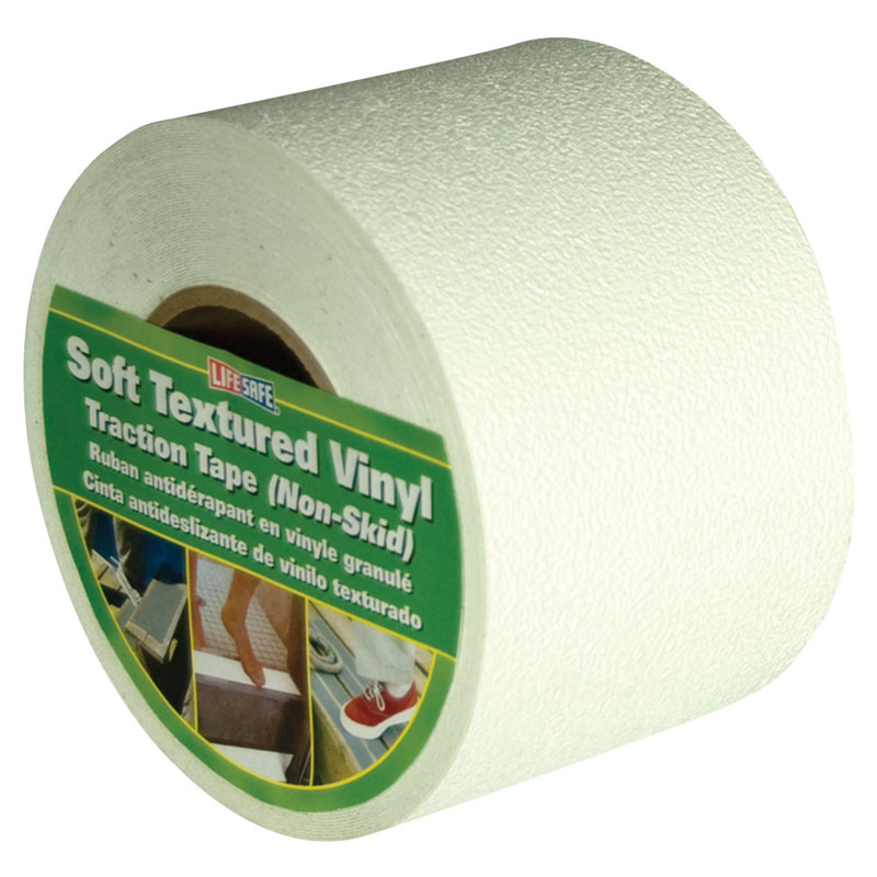 Life-Safe® [RE3888WH] Anti-Slip Safety Grit Tape - White - 4