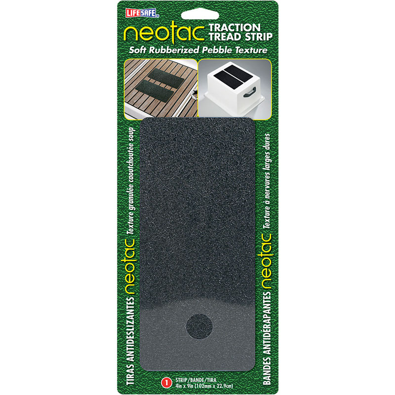 "NeoTac Traction Soft Pebble Safety Tread Tape Slip - 4"" x 9"""