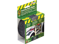 "Life-Safe® Anti-Slip Safety Grit Tape - Black - 2"" x 15'"