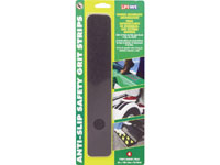"Life-Safe RE624BL Anti-Slip Safety Grit Strip - Black - (6) 2"" x 12"" Strips"
