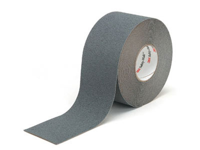 "3M™ [19323] Safety-Walk™ Slip-Resistant Medium Resilient Tread Tape - Gray - (2) 2"" x 60' Rolls"