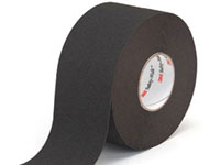 "3M™ [19296] Safety-Walk™ Slip-Resistant Medium Resilient Tread Tape - Black - (1) 4"" x 60' Roll"