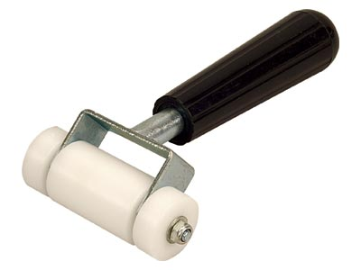 Roberts [10-106-3] Solid Wheel Carpet Seam Roller - 3 1/2""