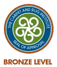 Carpet & Rug Institute (CRI) Certified Vacuum Cleaner - Bronze Level