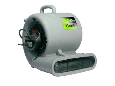 Viking ECO-CAM Pro Low Amp Turbo Air Mover w/ GFCI - 1/3 HP - 1.6 AMP