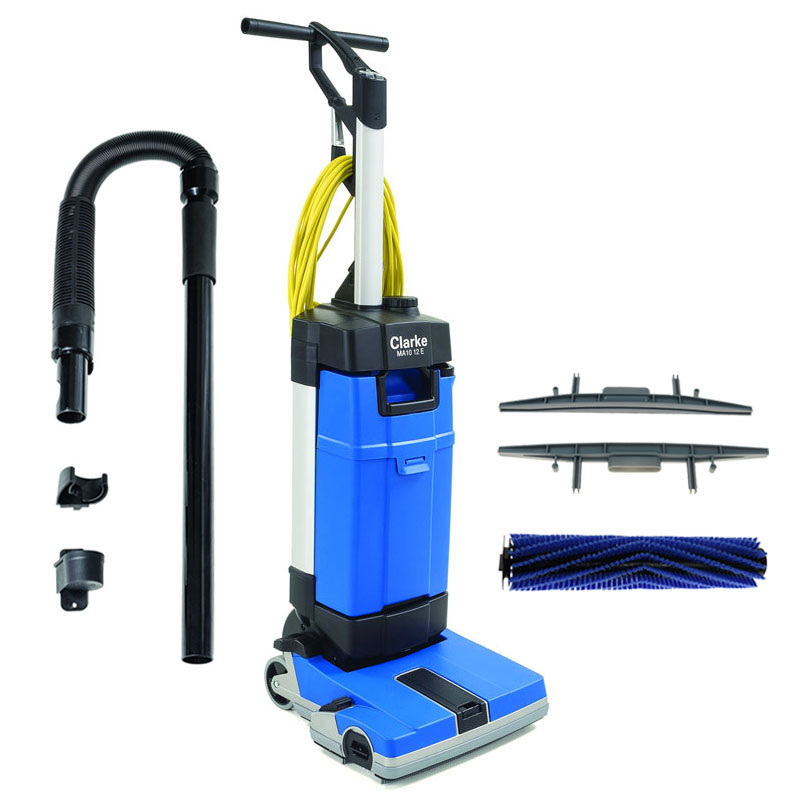 MA10 12EC Upright Auto Floor Scrubber w/ Carpet Cleaning Kit