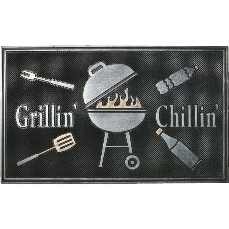 18 X 30 Grillin Chillin Barbecue Door Mat