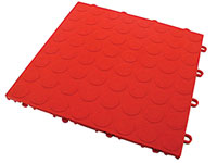 "RaceDeck CircleTrac Interlocking Garage Tile - 12"" x 12"" SL-C"