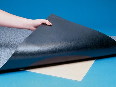 NoTrax® [090] Mat Hold Slip-Resistant Rubber Mesh Pad Underlay - 2' x 100' Roll