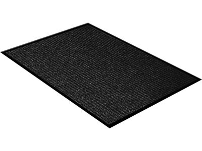 rug pile berber loop carpet icustomrug utility charcoal skylar cu striped
