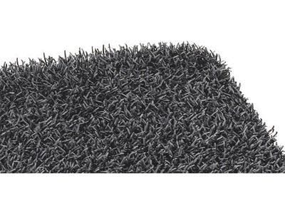 "17.5"" x 23.5"" Grassworx Astroturf Entrance Scraper Doormat - Cinder"