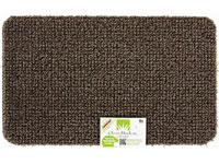 "17.5"" x 29.5"" Grassworx Clean Machine® Plus Astroturf Entrance Scraper Doormat - Taupe"