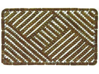 "18"" x 30"" Coir Brush Koko Boot Scraper Entrance Mat - Natural"