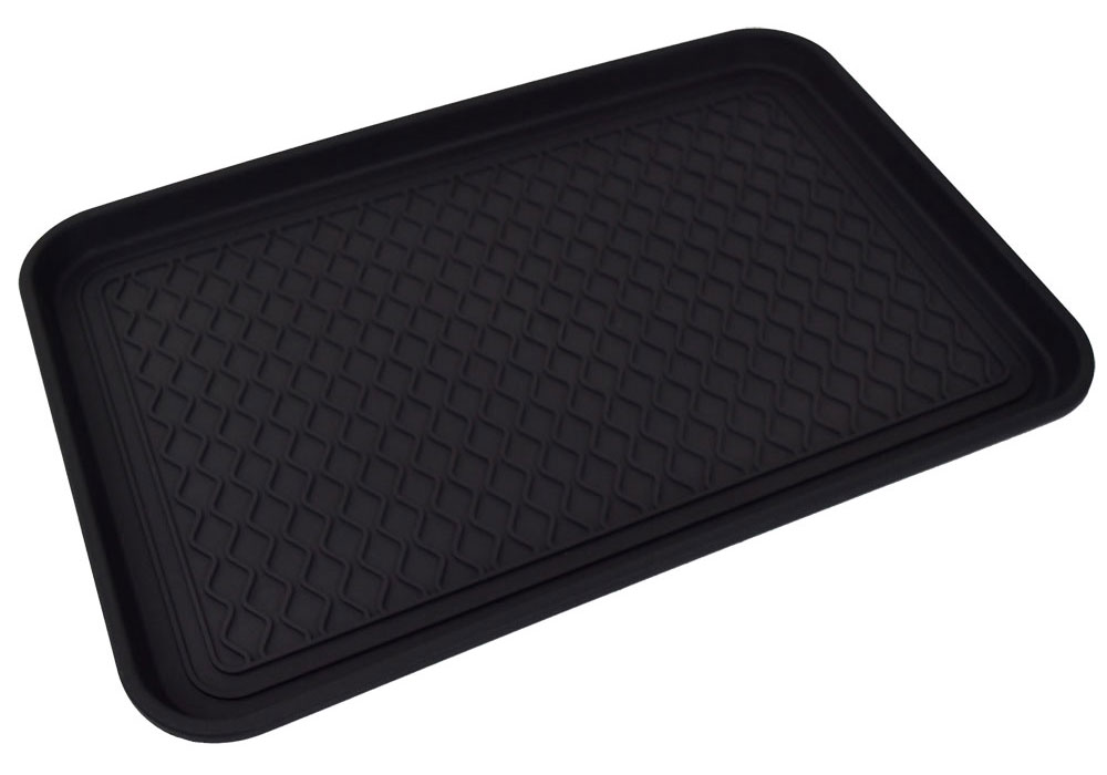 "14"" x 24"" Economy Boot Tray - Black"