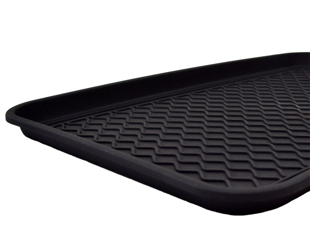 "15"" x 24"" Economy Boot Tray - Black"