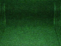 "27"" x 100' Single Ribbed Needlepunch Rubber Backed Floor Runner - Persian - Green 278971"