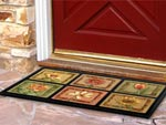 Designer Door Mats, Welcome Mats & Decorative Entrance Mats - Residential Mats & House/Home Matting