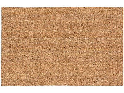 "15.5"" x 26.5"" Natural Decoir Brush Wiper Entrance Doormat - Tan"