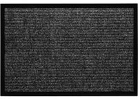 "18"" x 28"" Utility Master Clean Floor Entrance Doormat - Black - 641812"