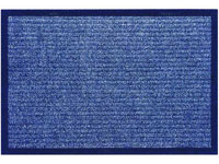 "18"" x 28"" Utility Master Clean Floor Entrance Doormat - Blue - 643688"