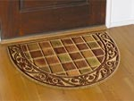 Shaped Door Mats, Oval Mats, Slice Mats & Die-Cut Front Door Entrance Mats - Residential Mats & House/Home Matting