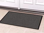 Solid Color Door Mats & Standard Rubber Border Front Door Entrance Mats - Residential Mats & House/Home Matting