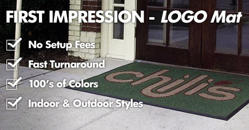 Custom Logo Floor Mats, Custom Logo Entrance Mats & Message Mats