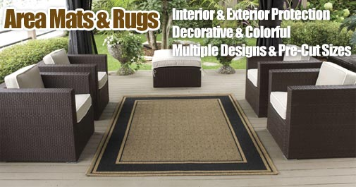 Entry-Way Area Mats, Decorative Area Rugs & Area Floor Covers