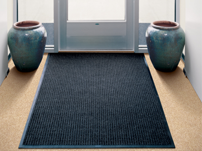 "Andersen [200] WaterHog Classic Indoor/Outdoor Scraper/Wiper Entrance Floor Mat - Rubber Border - 3/8"" Thickness"