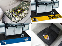 Licensed Logo Floor Mats