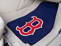 Boston Red Sox MLB Baseball Logo Car Floor Mats - Carpet