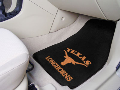 Texas Longhorns Ncaa Logo Carpet Car Floor Mats