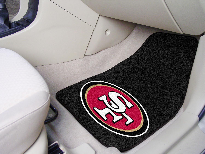San Francisco 49ers Nfl Football Logo Car Floor Mats