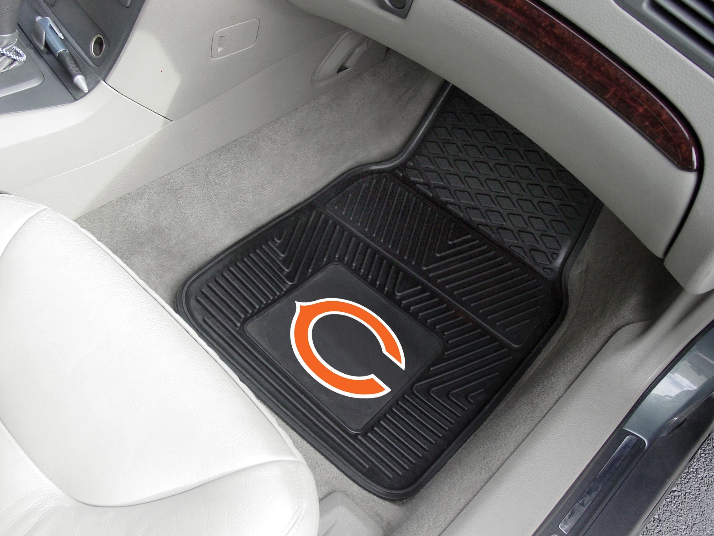 Chicago Bears Nfl Football Logo Car Floor Mats Heavy