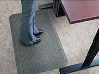 Get-Fit Stand Up Anti-Fatigue Desk Mat - Designer Top AM-4448