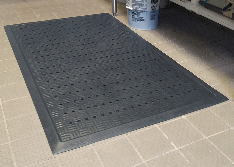 Cushion Station Drainage Anti Fatigue Mat Floormatshop