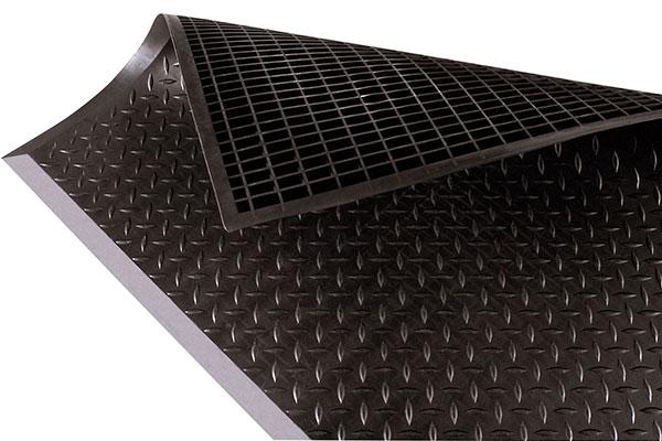 Diamond Top Interlock Safety Anti Fatigue Mat