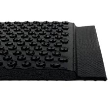 Happy Feet Wet Area Anti-Fatigue Mat - Black Border, Grip Surface