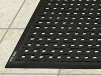 Andersen Comfort Flow Wet/Oily Area Anti-Fatigue Flow-Through Floor Mat