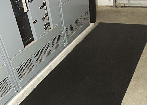 Corrugated Switchboard Non Conductive Runner Mat