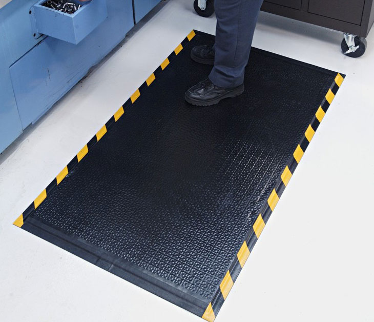 Happy Feet Anti Fatigue Mat Textured Surface Osha