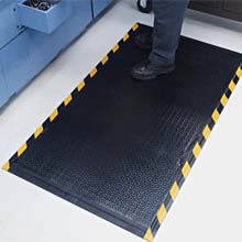 Happy Feet Grip Surface Anti-Fatigue Mat - OSHA Border
